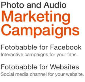 photo and audio marketing campaigns